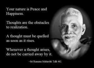 ramana mahirshi quotes