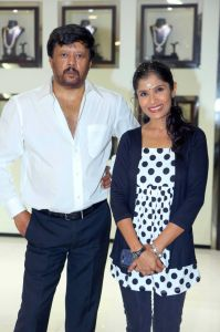 With Actor Thyagarajan