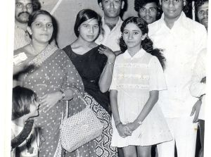 With KJY, Sujatha Mohan , Amma